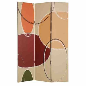 Nova Screen, 3 Panel Canvas Screen, 48 Inch L x 72 Inch H Brand Screen Gems