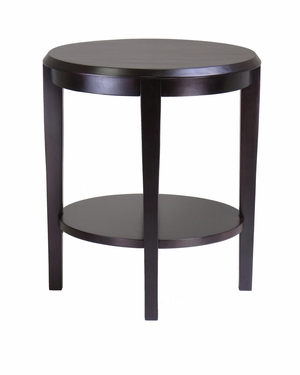Occasional Nadia End Table in Wonderful Round Shape by Winsome Woods