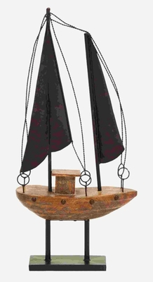 Ocean Theme Sailboat Decor Ready For an Adventure Brand Woodland