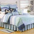 Ocean Wave Quilt Handmade Luxury Cal Queen  Quilts Brand C&F