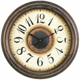 Old, Rustic and Appealing Potter Clock by Cooper Classics