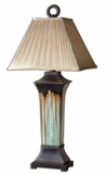Olinda Porcelain Table Lamp with Metal Detailing Brand Uttermost