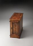 "Olive Ash Burl Chairside Chest 12""W by Butler Specialty"