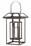 Open Design Metal Lantern w/ Top & Holder Attached