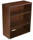 Open Hutch/Bookcase- Mahogany by Boss Chair
