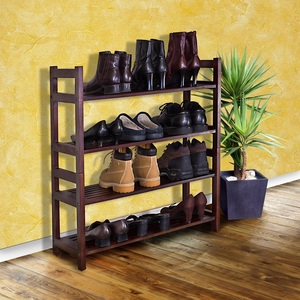 Orikum Four-Tier Shoe Rack Ultra Useful Aesthetic Creation by D-Art