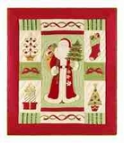 Ornamental Santa Throw, 50 Inch X 60 Inch Brand C&F