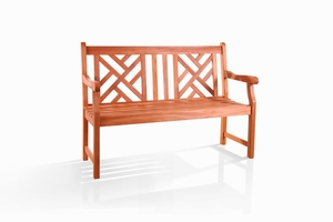 Outdoor 2-Seater Atlantic Bench by Vifah