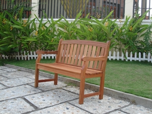 Outdoor 2-Seater Marley Bench by Vifah