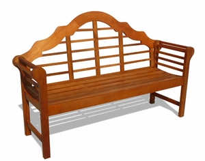 Outdoor FSC Eucalyptus Classic Bench by Vifah