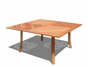 Outdoor Large & Square Table by Vifah