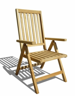 Outdoor Pos Teak Chair by Vifah