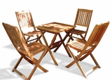 Outdoor Wood Dining Set by Vifah