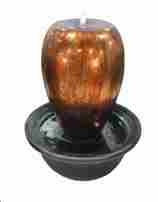 Over Flow Vase Table Fountain With LED Light Fitted Apple Shape Vase Brand Domani