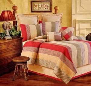Oversized King Quilt - Luxury Inviting Oak Ridge Style Bed Brand C&F