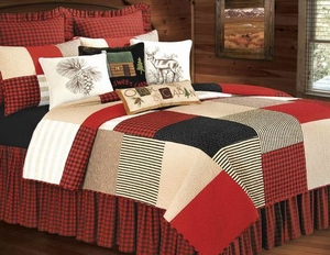 Oversized Queen Quilt - Colonial Style Boulder Ridge Luxury Bed Brand C&F