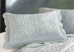Oversized Queen Quilt - Luxury Bed With Eucalyptus Pebbles Brand C&F