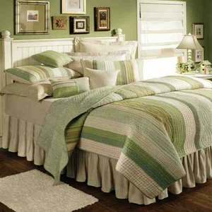 Oversized Queen Quilt - Modern Vineyard Dream Style Luxury Bed Brand C&F