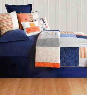 Oversized Twin Quilt - Endless Summer Sunset Style Luxury Bedding Brand C&F
