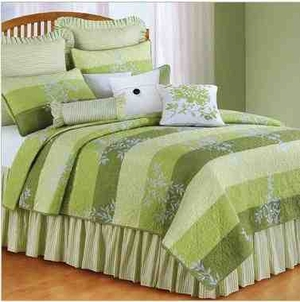 Oversized Twin Quilt - Everly Quilt With Rainforest Stripes Brand C&F