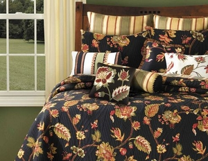 Oversized Twin Quilt - Festive Luxury Kingston Autumn Style Bed Brand C&F
