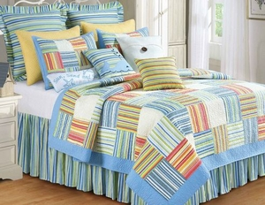 Oversized Twin Quilt - Luxury And Bright Sebastian Style Bedding Brand C&F