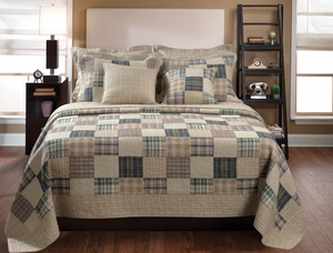 Oxford Quilt Exciting Design Captivating Queen Set Brand Greenland