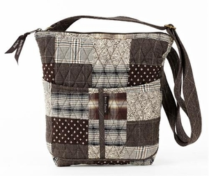 Oxford Style Backpack - Quilted Hipster Purse By Bella Taylor Brand VHC