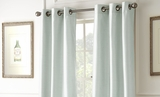 Pack of Two Seaglass Color Black Out Curtains