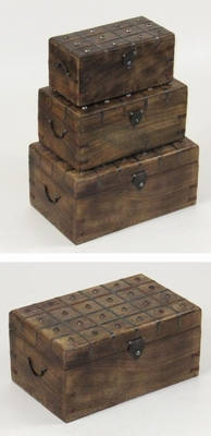 Padua Nested Chest Set, Presentable and Prolific Glorious Home Decor Brand IOTC