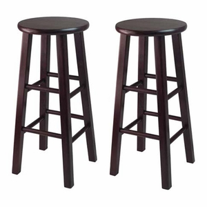 "Pair of two Attractive Wooden Exquisite 30"" Bar Stool by Winsome Woods"