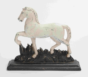 Palermo Horse Sculpture Charmingly Presentable Creation Brand Benzara