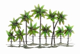 "Palm Island Unique Metal Wall Decor Sculpture 38""x25"" Brand Woodland"