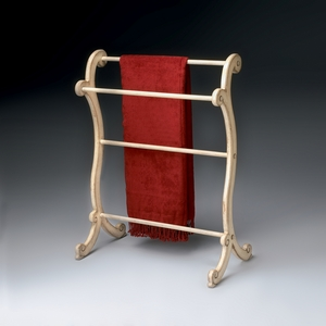 """Parchment Blanket Rack 28""""W by Butler Specialty"""