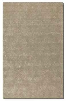 "Paris Camel 16"" Light Brown Woolen Rug with Linen Details Brand Uttermost"