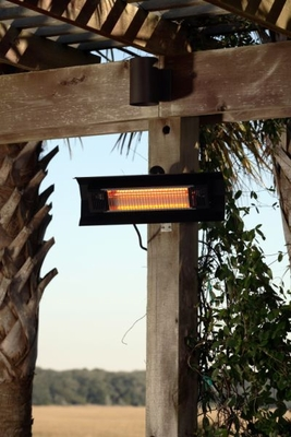 Parma Wall Mounted Infrared Patio Heater, Safe Outdoor Home Decor by Well Travel Living