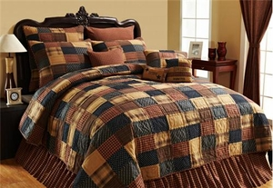 Patriotic Patch Queen Quilt � Follow The Fashion To Relax Brand VHC