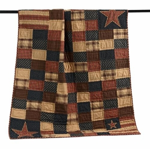 Patriotic Patch Throw  Ð Not Only Throw But Bedroom Decor Also Brand VHC