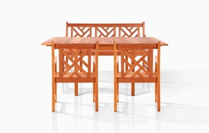 Pembroke Bench-Seater Dining Set by Vifah