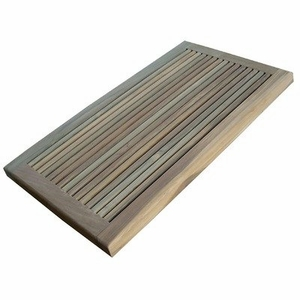 Perfect Greenface Reclaim Teak Doormat by Infinita