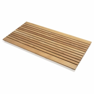 Perfect Le spa Teak Floor Mat by Infinita