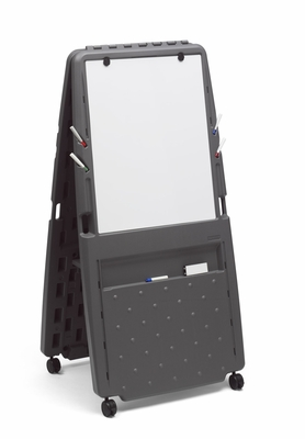Perfect Presentation Flipchart Easel, Dry Erase Surface by Iceburg Enterprises