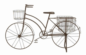 Perugia Awe-inspiring Extraordinary Bicycle Planter Brand Benzara