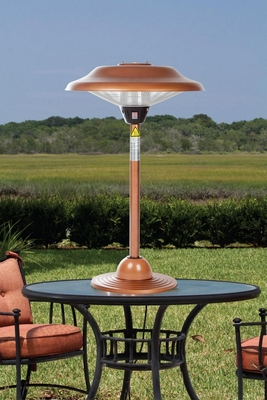 Pescara Table Top Halogen Patio Heater, Wonderful And Dynamic Unit by Well Travel Living