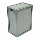 Pewter Style Hamper (RTA - Ready To Assemble) in Pewter by Redmon