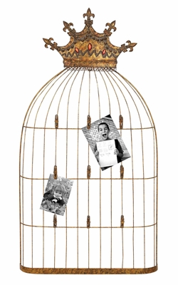 Photo Wall Decor - Cute Birdcage Photo Holder for the Wall Brand Woodland