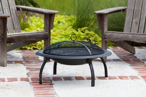 Piacenza Folding Fire Pit, User-friendly And Tremendously Powerful Entity by Well Travel Living