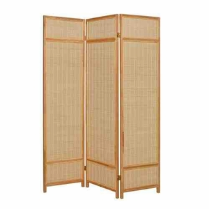 Pine Layered Screen, 3 Panel Screen, 52 Inch L x 72 Inch H Brand Screen Gems