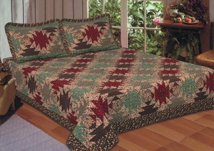 Pineapple Patchwork Handmade Quilt Queen Size by American Hometex