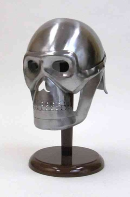 Pirated Skeleton Helmet, Real-Size Metal Skeleton Helmet Brand IOTC